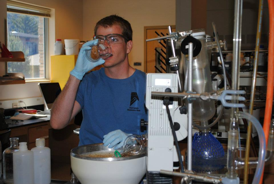 biochemistry drinking chemicals