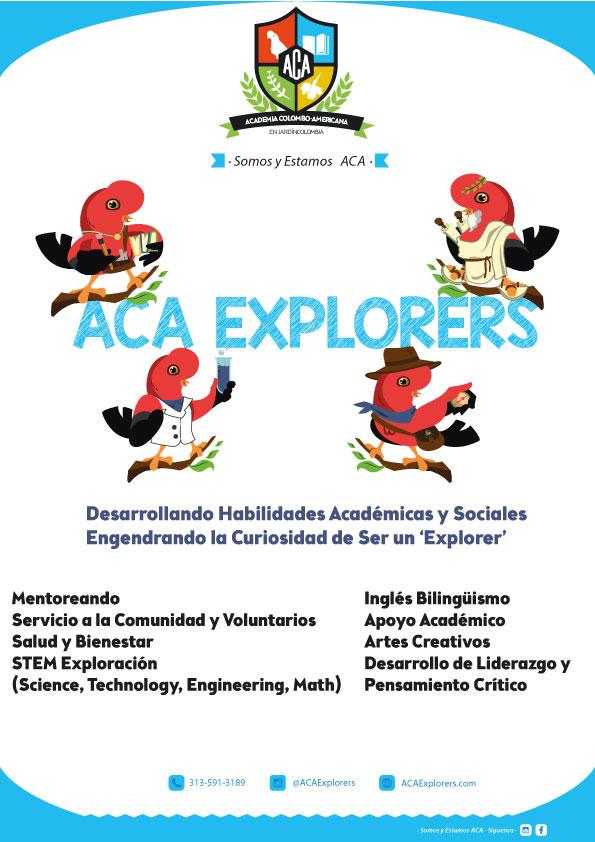 ACA ExACA Explorers Frontplorers Front