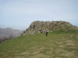 Camino de Santiago Walking up the Pyrenees