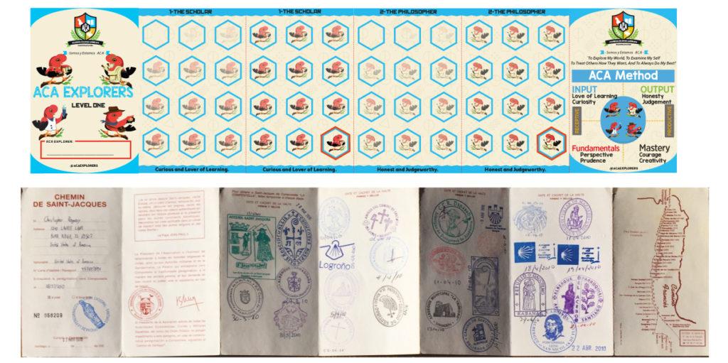 Explorers Passport Camino De Santiago Passport