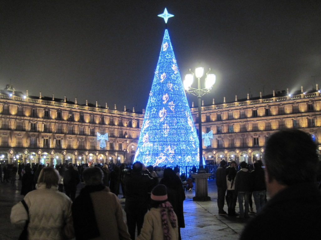 Christmas in Salamanca Spain