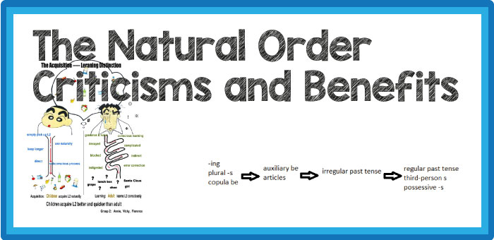 The Natural Order – Criticisms and Benefits