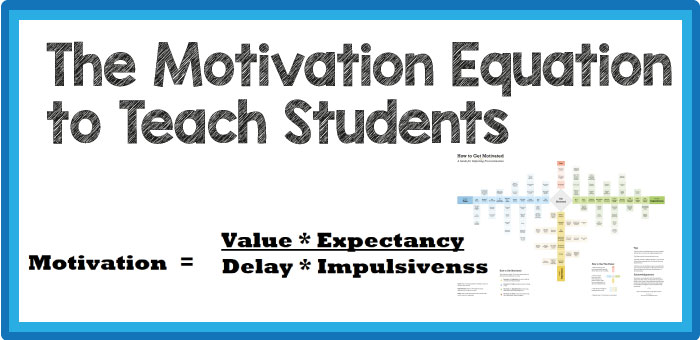 The Motivation Equation to Teach Students