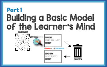 Building a Basic Model of the Learner's Mind: Part 1